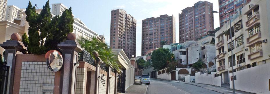 Jardines lookout tai hang residential schools and for Jardin hong kong